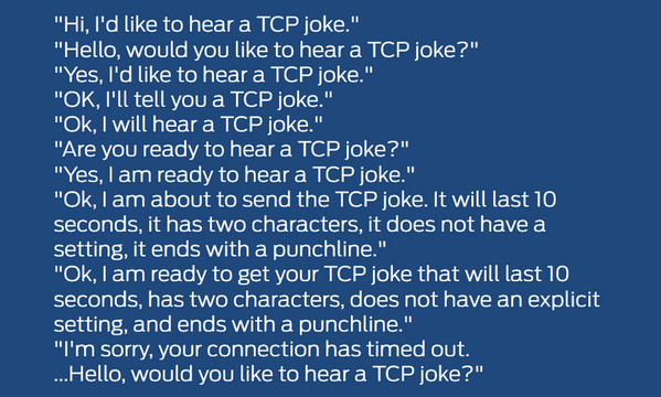 Dowcip TCP/IP