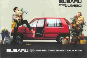 Subaru Mini Jumbo (1989)